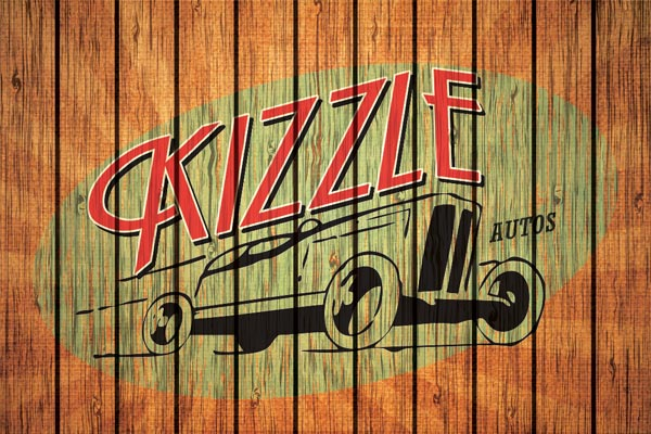 Logo design, corporate image for Kizzle Autos